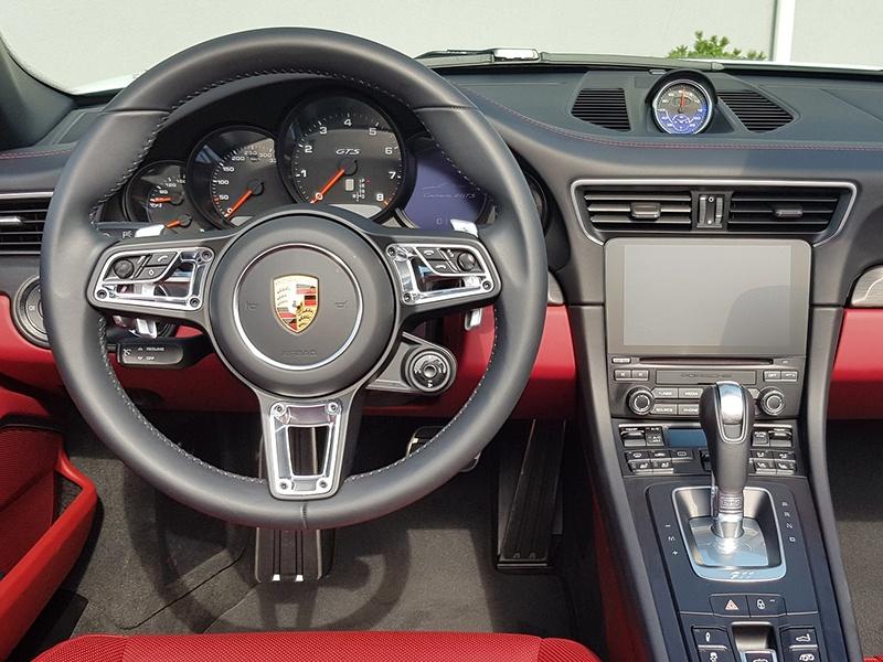 Porsche 911 Carrera 4GTS-Cabrio