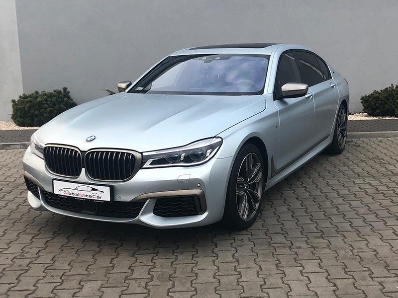 BMW M760 Li - Wypożyczalnia samochodów Warszawa