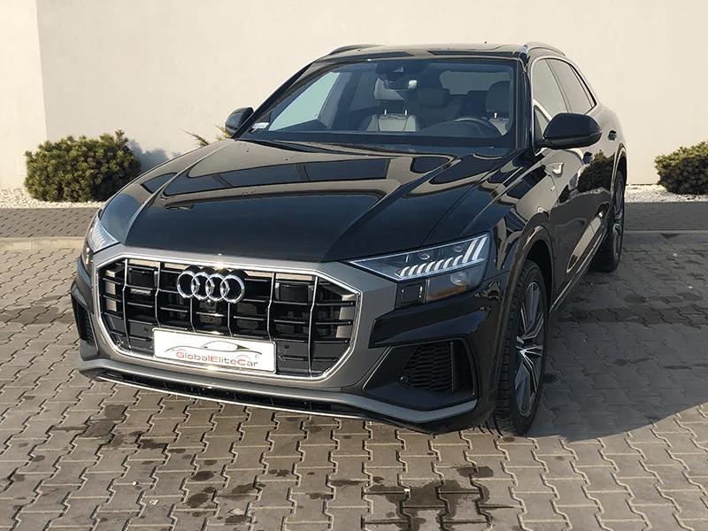 Audi Q8 - Wypożyczalnia samochodów sportowych Warszawa