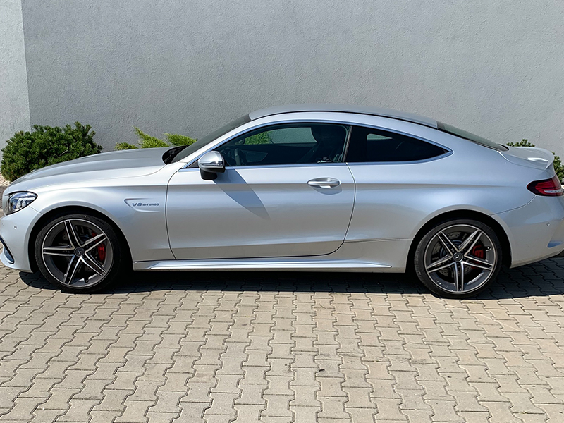 Mercedes C 63S AMG COUPE
