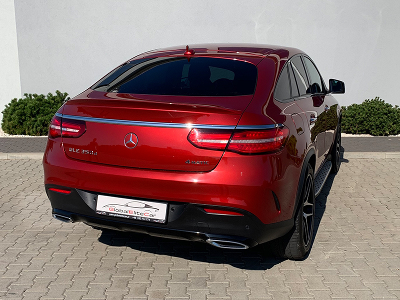 Mercedes GLE 350d COUPE 4 MATIC