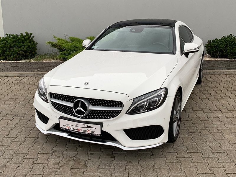 Mercedes C 200 COUPE PAKIET AMG