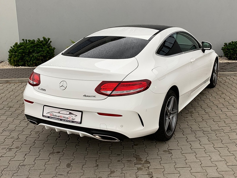 Mercedes C 200 COUPE PAKIET AMG-1