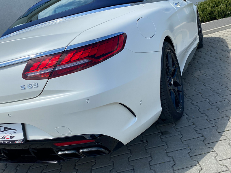 Mercedes S63 Cabrio- 4