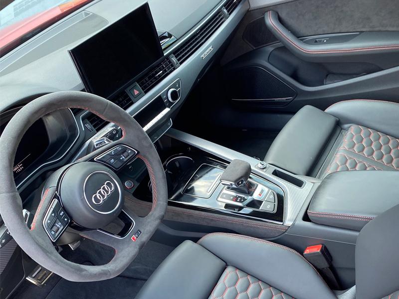 Audi RS4- 5